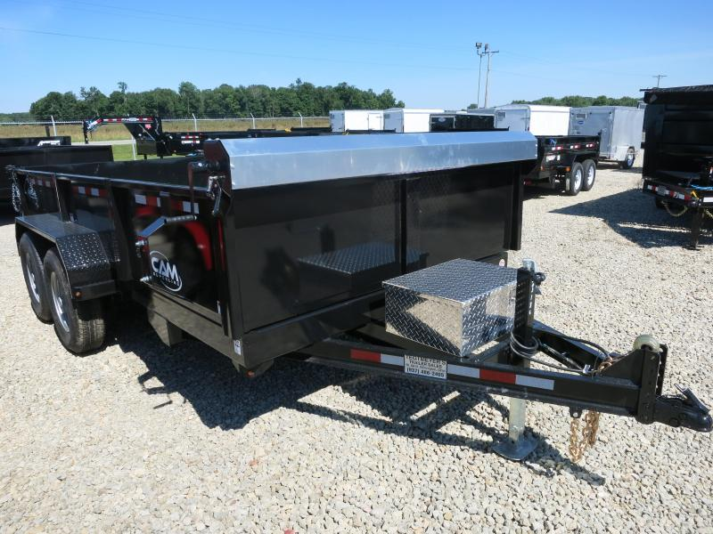 Cam Superline Trailers  6x14 Dump Trailer