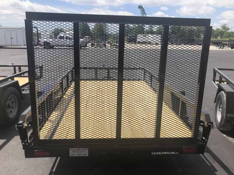 Cam Superline Trailers  6x10 Utility w/ gate