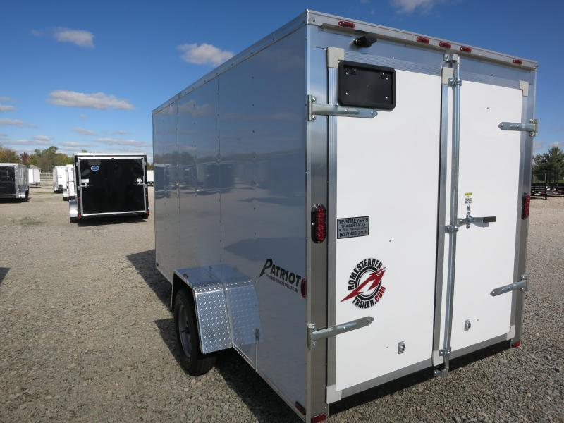 Homesteader Trailers 6x12 Enclosed Trailers w/ Double Rear Doors