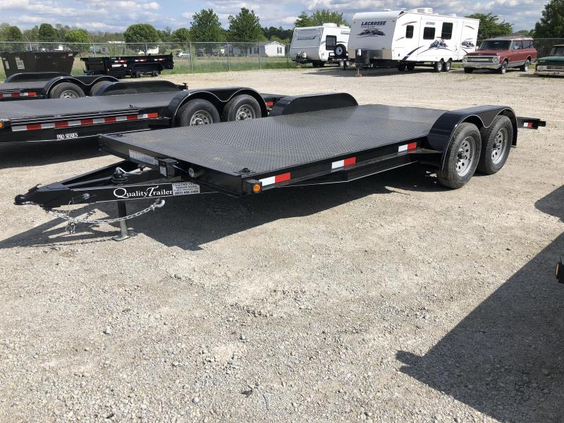 Quality Trailers 18' Steel Floor Car Trailers w/ ramps - 7000 GVW - BRAKE in Ashburn, VA