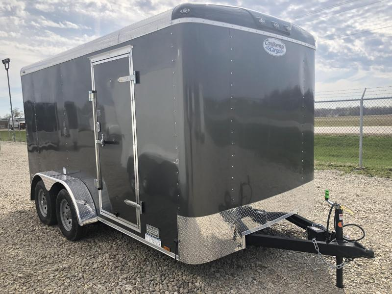 Continental Cargo Trailers 7X14 Enclosed Trailer W/ Ramp Door