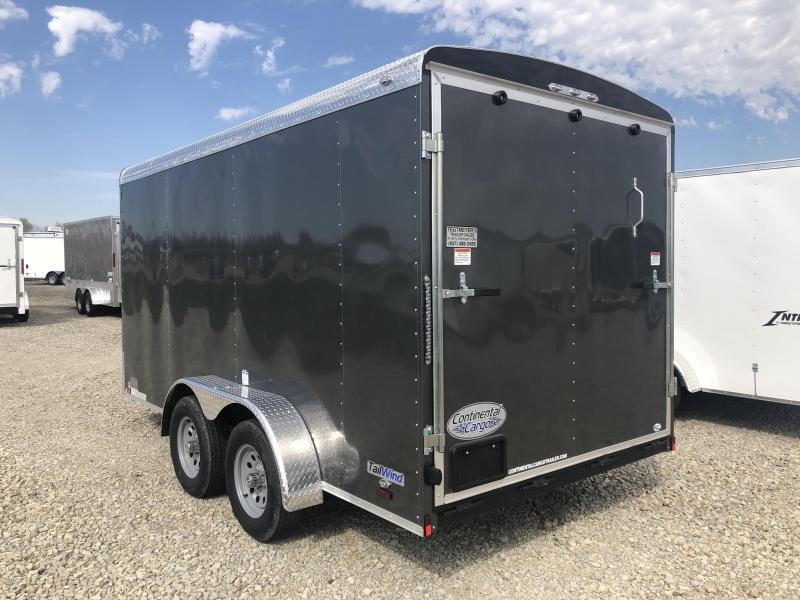 Continental Cargo Trailers 7X14 Enclosed Trailer W/ Ramp Door