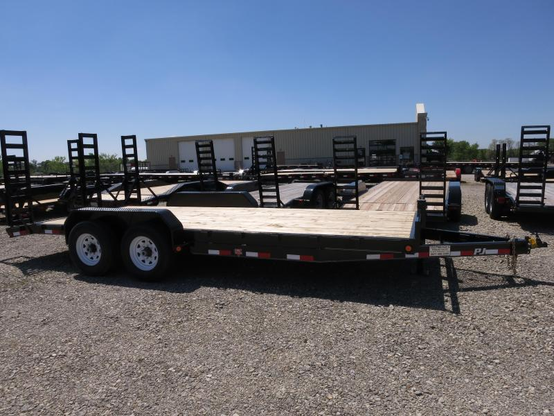 PJ Trailers 20' Equipment Trailer w/ Ramps