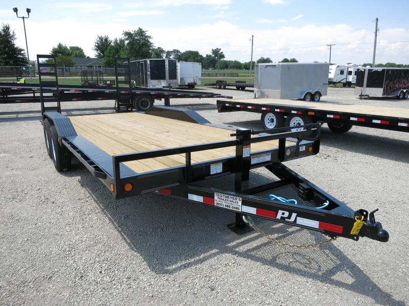 "PJ Trailers 20' X 6"" Channel Super-Wide Trailer"