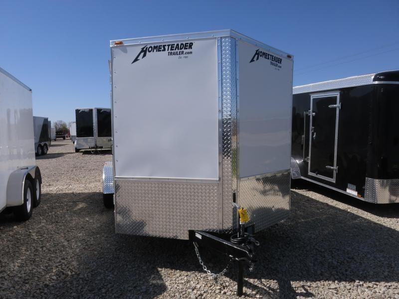Homesteader 7x16 Enclosed Trailer w/ Double Rear Doors
