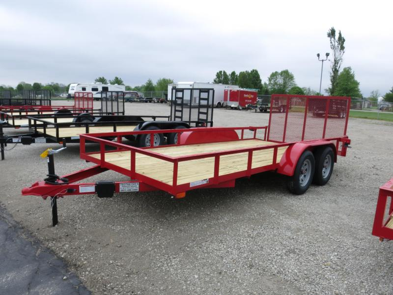 American Manufacturing 6x16 Utility Trailer w/ gate in Ashburn, VA