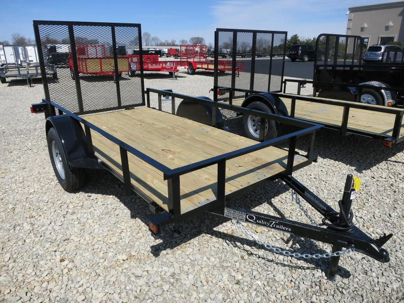 Quality Trailers 5x10 Wood Floor Utility Trailer