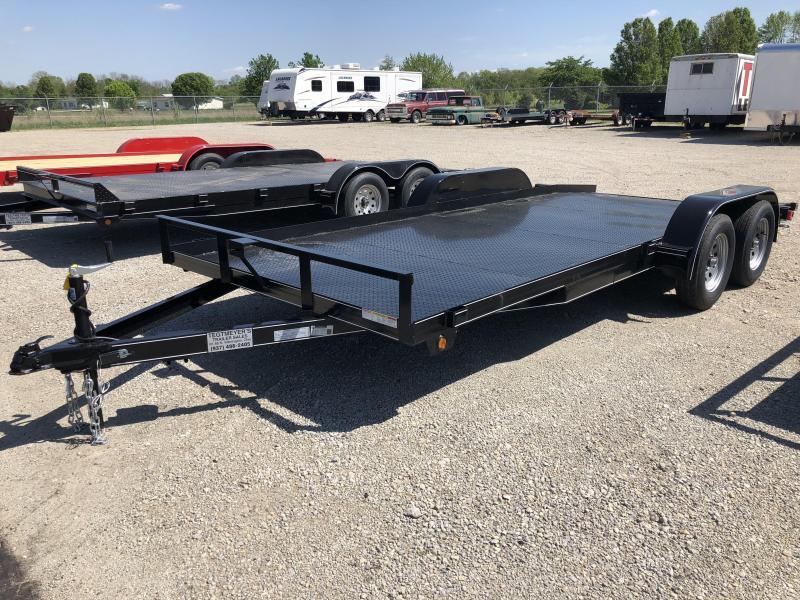 Lone Wolf Trailers 18' Steel Floor Car Hauler w/ ramps in Ashburn, VA