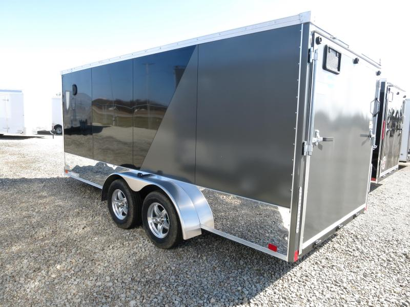 United Trailers 7x16 Enclosed Trailer XLMTV w/ Ramp Door - Motorcycle Trailer