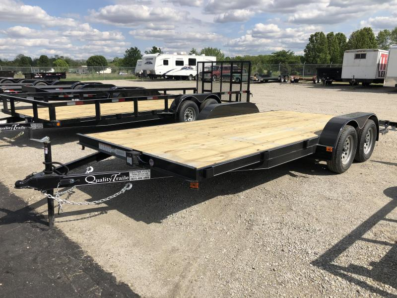Quality Trailers 18' Wood Floor Car Trailers w/ ramps - 7000 GVW - BRAKE in Ashburn, VA