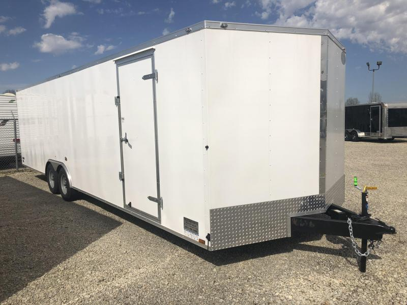 Continental Cargo 8.5X28 Enclosed Trailers W/ Ramp Door - 10000 GVW - Drings