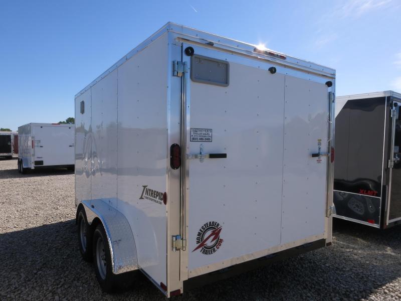 Homesteader 7x12 Enclosed Trailer w/ Ramp Door
