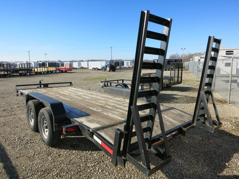 Used Lawrimore 18' Flatbed Trailer