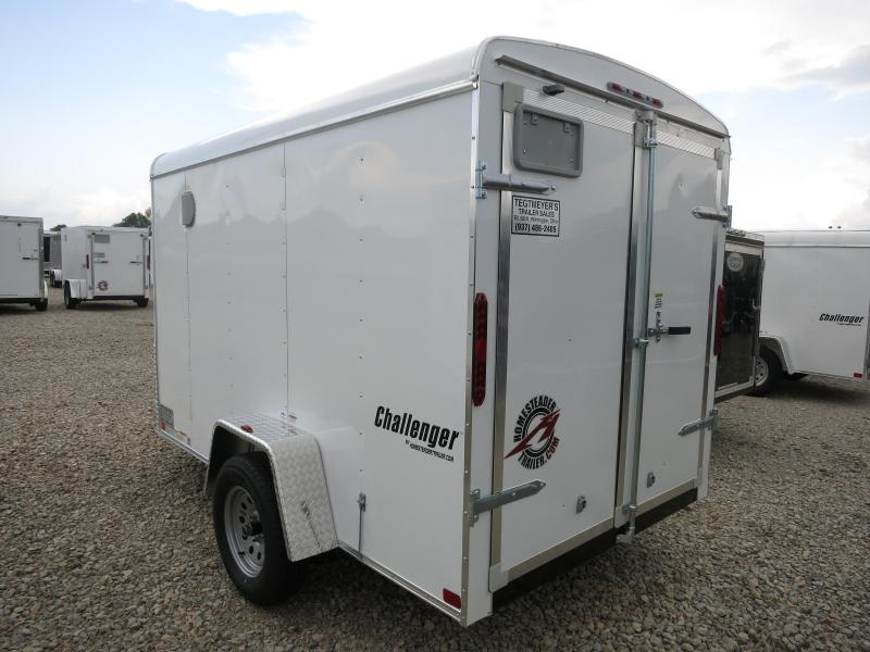 Homesteader Trailers 6X10 Enclosed with Double Rear Doors