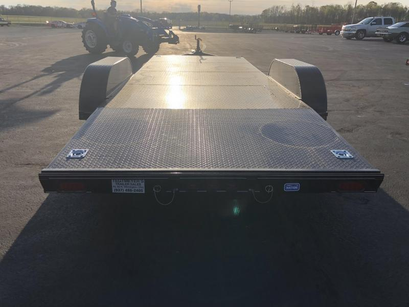 Nation Tank & Trailers - 20' Steel Floor Car Hauler w/ ramps - removable fenders in Ashburn, VA