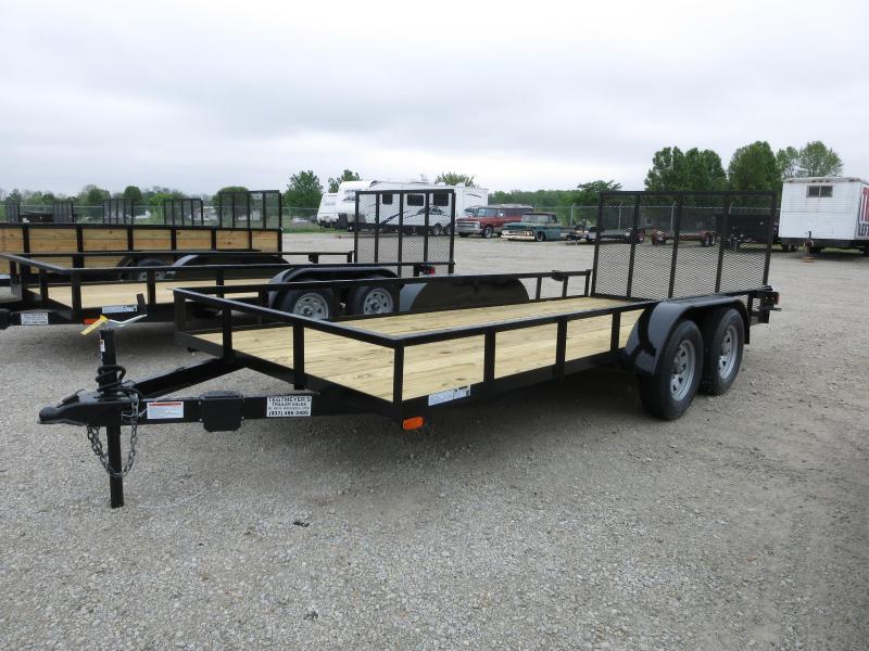 American Manufacturing 6x16 Utility Trailer w/ gate