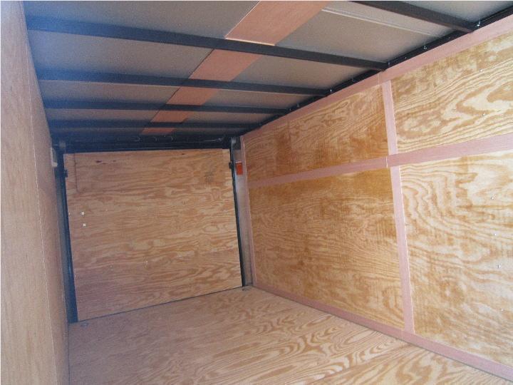 Homesteader Trailers 7x14 Enclosed Trailer w/ Ramp Door - Vents - Drings