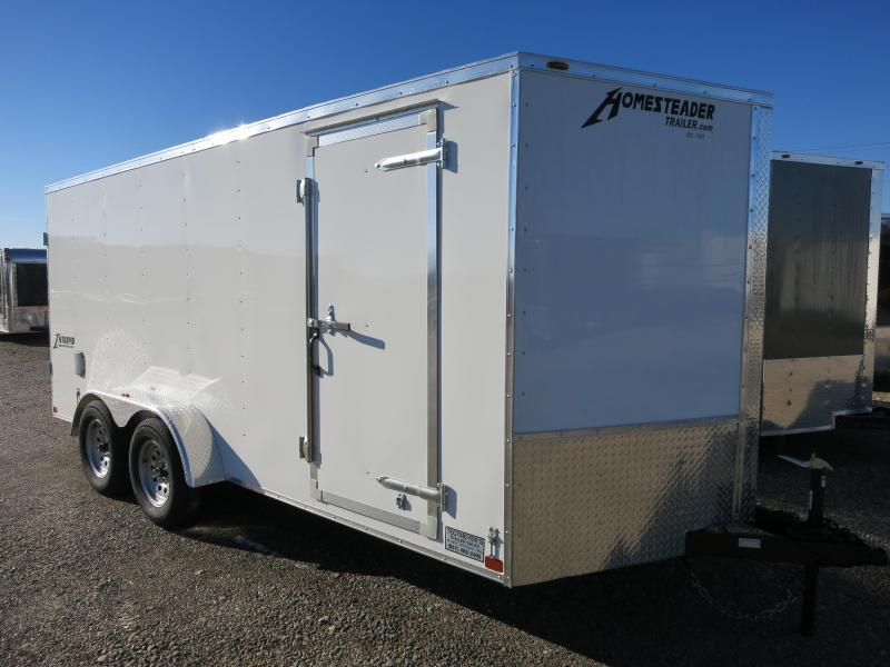 Homesteader 7x16 Enclosed Trailer w/ Double Rear Doors in Ashburn, VA