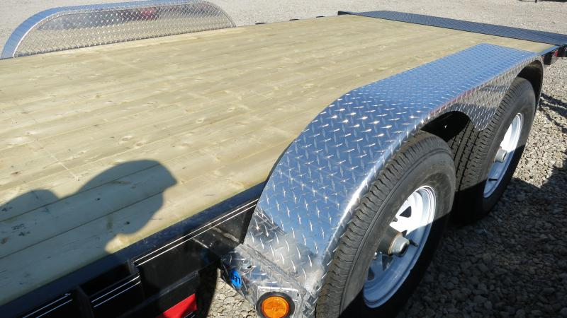 PJ Trailers 20' Equipment Trailer - Quick Tilt