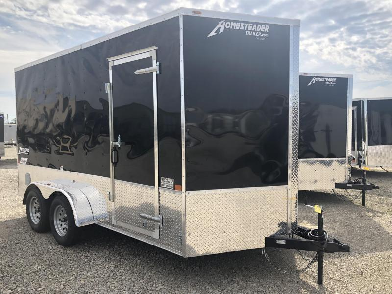 Homesteader Trailers 7x14 Enclosed Trailer w/ Ramp Door - Extra Height - Vents - Drings in Ashburn, VA