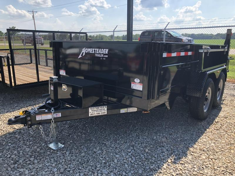 Homesteader Trailers - 7x12 Dump Trailer