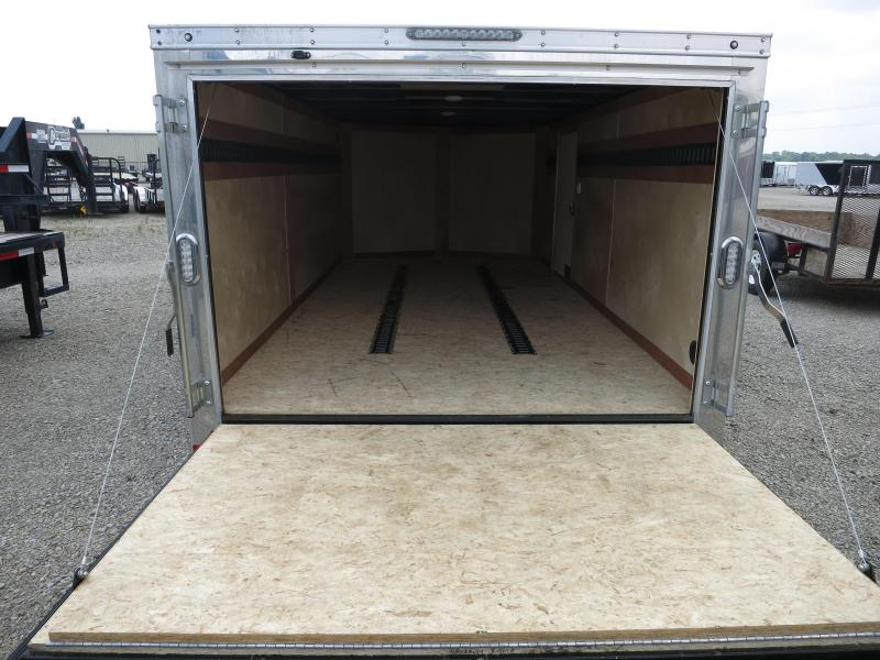 Sure Trac 7X14 Enclosed Trailers W/ Ramp Door - LED - Dome Light