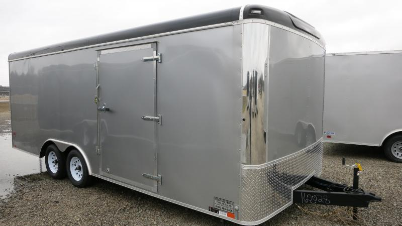 United Trailers 8.5 x 20 ULT Enclosed Trailer w/ Ramp Door - Screwless Sides - Polished Corners - LED Lights