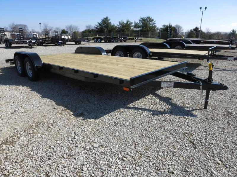 20' Car Trailers Wood Floor w/ ramps - Brake in Ashburn, VA