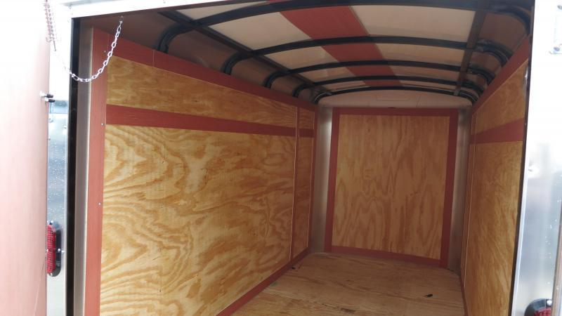 Homesteader Trailers 5x10 Enclosed w/ Single Rear Door