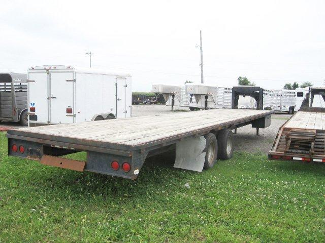 Used 1993 Special 35' Gn Straight Deck Gooseneck Trailer