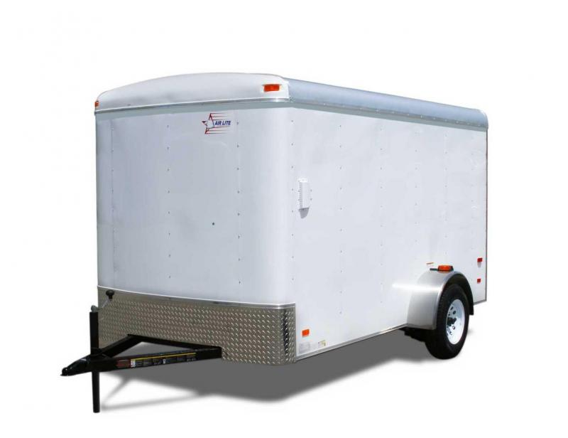 American Hauler 6 X 12 Single Axle Enclosed Cargo Trailer