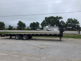 Delta 30' Gooseneck Flatbed Trailer in IA