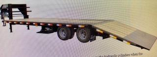 Delta 25 + 5 Gooseneck Flatbed Trailer in Ashburn, VA