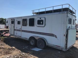 2001 Exiss Trailers Exiss 4Horse Horse Trailer