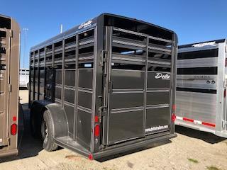 2015 Delta Manufacturing 6x16 Delta Bumper Stock Livestock Trailer