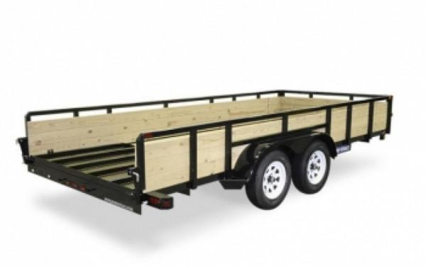 Sure-Trac 3-Board High Side Tube Top - 7' x 16'