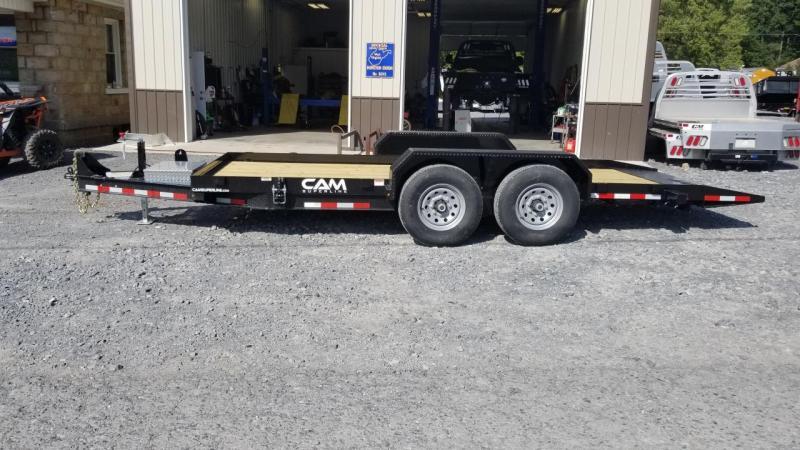 Cam Superline 7X18 14K Full Tilt Equipment Trailer