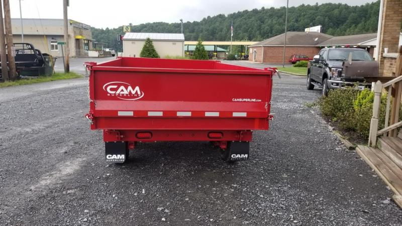 Cam Superline 6X10 10K 3 Way Deckover Dump Dump Trailer