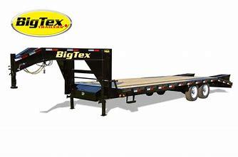 Big Tex 14GN 102 X 20 + 5' 15.9K Gooseneck Deckover