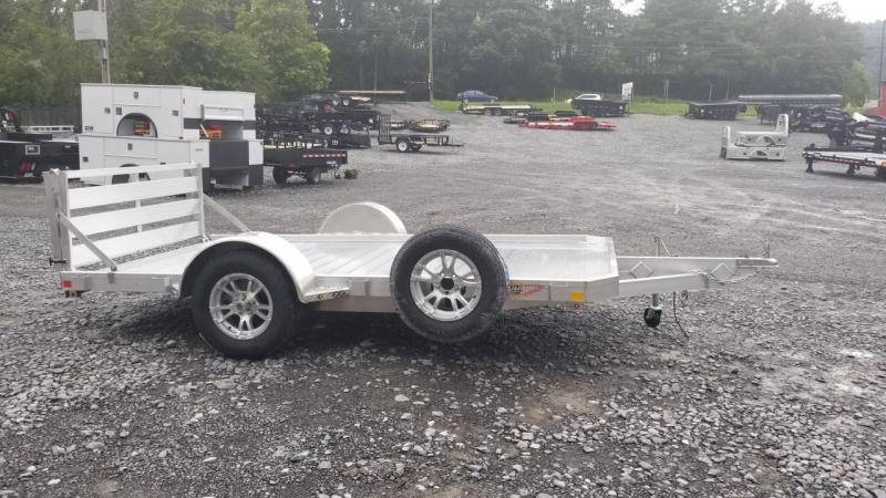 2018 H and H Trailer 6X12 3K Aluminum Low Side Utility Trailer
