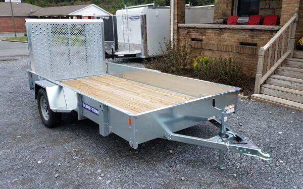 Sure-Trac Galvanized High Side Utility - 6' x 12' 3K