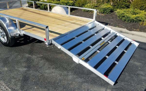 H&H 6.5 X 12 Aluminum Tube Top  3K Trailer