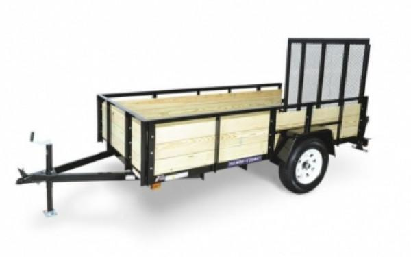 Sure-Trac 3-Board High Side 6 x 10 Utility Trailer