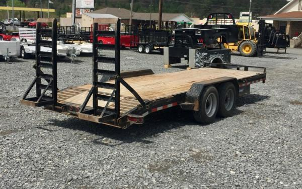 Used SureTrac 7x18 Implement Trailer 16000 GVWR