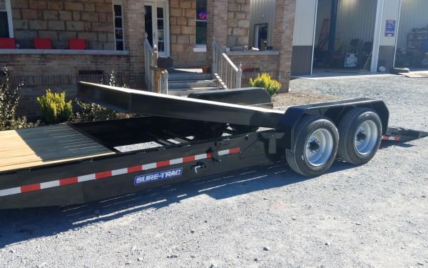 SureTrac Tilt Bed Equipment 7X16+4 16K GVWR