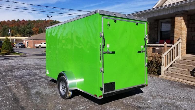 Spartan 6X12 3K Cargo Electric Green