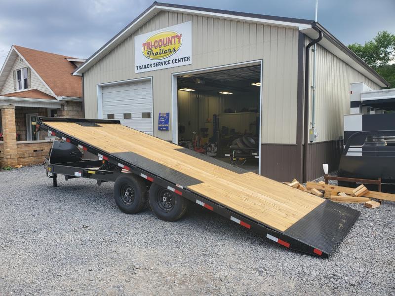 Big Tex Trailers 14OT 102X22 Full Hydraulic Tilt 14K Equipment Trailer