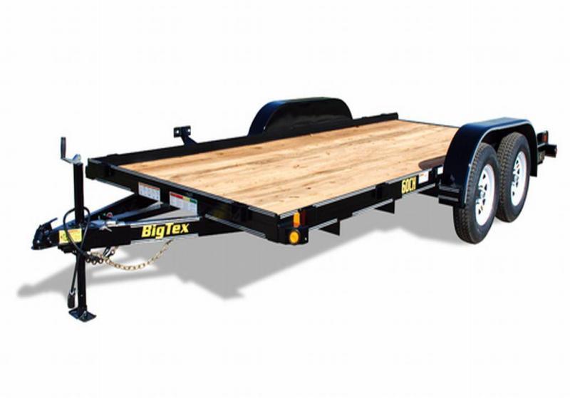 60CH 83X16 Wood Deck Car Hauler