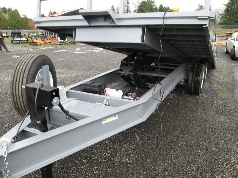 Trail Dust Tilt Deck Trailers