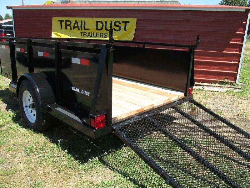 Trail Dust Steel Side Utility Trailer